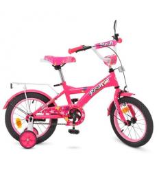 Велосипед детский PROF1 14д. T1462 (1шт/ящ) Original girl, малиновый