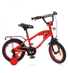 Велосипед детский PROF1 14д. Y14181 (1шт/ящ) TRAVELER, красный