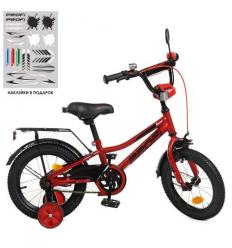 Велосипед детский PROF1 14д. Y14221 (1шт/ящ) Prime, красный