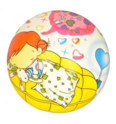 Мяч детский MS 2619 полноцветный, в кульке