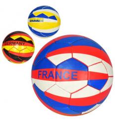 Мяч футбольный 2500-128 Страны, размер 5, в кульке