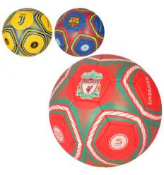 Мяч футбольный 2500-162 Клубы, размер 5, в кульке