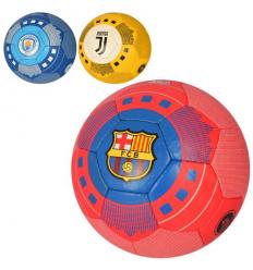 Мяч футбольный 2500-165 Клубы, размер 5, в кульке