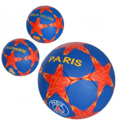 Мяч футбольный 2500-74 Клубы, размер 5, в кульке