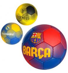 Мяч футбольный 2500-85 Клубы, размер 5, в кульке