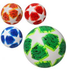 Мяч футбольный MS 2216 размер 5, ламинированый, в кульке