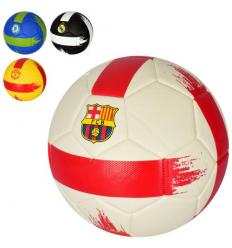 Мяч футбольный MS 2999 размер 5, клубы, в кульке