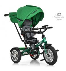 Велосипед M 4057-4 (1шт/ящ) TURBOTRIKE, зеленый