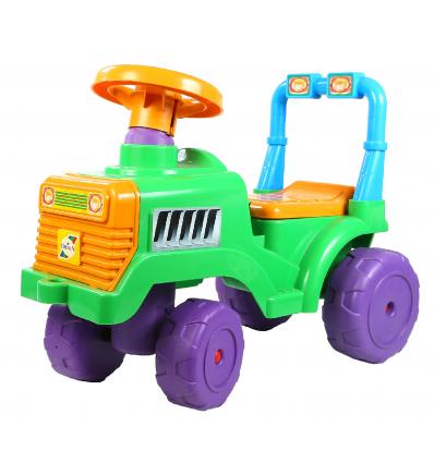 "Автомобиль для прогулок ""Орион"" 931-931 ""Бэби трактор"" со спинкой"