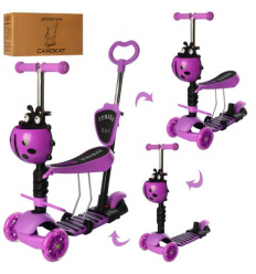 Самокат JR 3-026-V (1шт/ящ) iTrike, MAXI, Фиолетовый