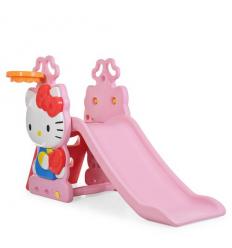 Горка HK2018-1B (1шт/ящ) HK, розовый-красный-голубой