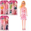 Кукла с нарядом XL 857 с нарядом, на листе