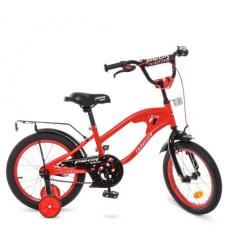 Велосипед детский PROF1 16д. Y16181 (1шт/ящ) TRAVELER, красный