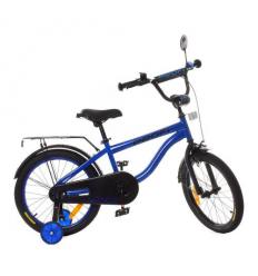 Велосипед детский PROF1 18д. SY18153 (1шт/ящ) Space, индиго