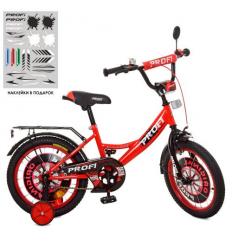 Велосипед детский PROF1 18д. XD1846 (1шт/ящ) Original boy, красно-черный