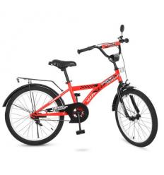 Велосипед детский PROF1 20д. T2031 (1шт/ящ) Racer, красный