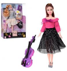 Кукла QJ070-QJ070A шарнирная, в коробке