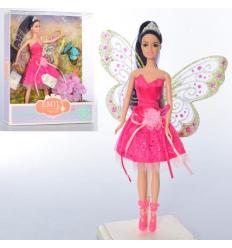 Кукла QJ080C бабочка, цветы, в коробке