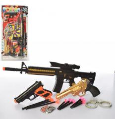 Набор с оружием 808-62 полиция, на листе