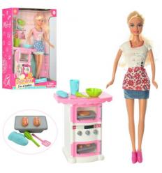 Кукла DEFA 8421 Кухня, в коробке