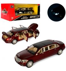 Машина AS 2288 АвтоСвіт, металл, в коробке