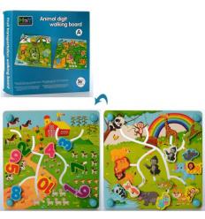 Деревянная игрушка MD 2539 Игра, лабиринт, в коробке