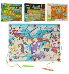 Деревянная игрушка MD 2560 Игра, магнитная, в коробке