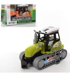 Трактор 668A инерционный, в коробке