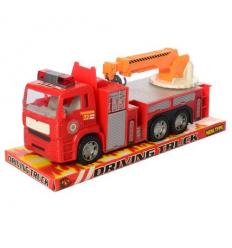 Пожарная машина 689-103 инерционная, в слюде