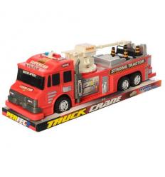 Пожарная машина 689-105 инерционная, в коробке