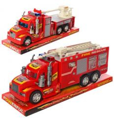 Пожарная машина 689-110-111 инерционная, в коробке