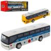 Автобус AS-2493 (36шт) АвтоСвіт, металл, инер-й, 19см, звук, свет, бат-таб, 2вид, в кор-ке, 25-9-7см