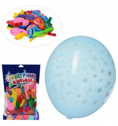 Шарики надувные MK 1039-2 в кульке 50 шт