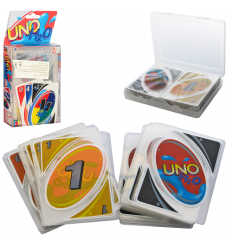 Настольная игра 2344-2 UNO, карточки, в слюде
