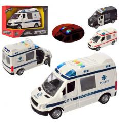 Машина AS 2185 АвтоСвіт, инерционная, в коробке