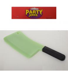 Аксессуары для праздника MK 3475-3 нож/топорик, светится в темноте, в кульке