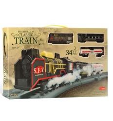 Железная дорога 871-871 локомотив, на батарейках, в коробке