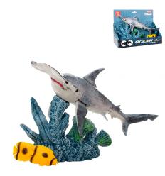 Животные 5501-9 рыба-молот, подвижные детали, в коробке