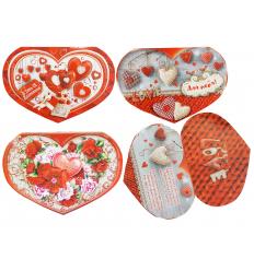 Открытка СМГ-620-650 Валентинки, Happy Valentine's Day