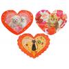 Открытка MCT-160-180 Валентинки, Happy Valentine's Day, животные