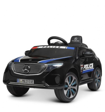Машина M 4519 EBLR-2 (1 шт/ящ) поліцейська, р/у, Черна