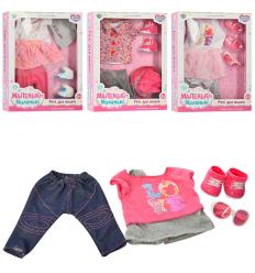 Кукольный наряд 905-ACQT костюм, туфли, в коробке