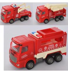 Пожарная машина X 21-02 инерционная, в кульке