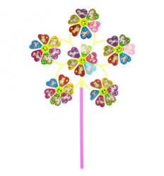 Ветрячок M 6243 диаметр 31 см, цветок, в кульке