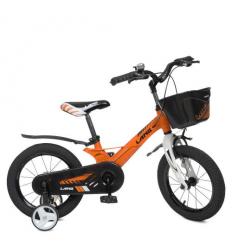 Велосипед детский 14д. WLN 1450 D-4 (1шт/ящ) Hunter, оранжевый