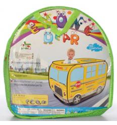 Палатка MR 0340 школьный автобус, в сумке