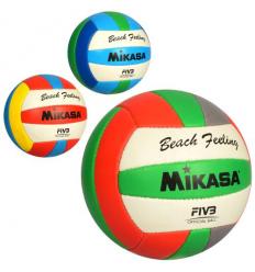 Мяч волейбольный 1154 ABC официальный размер, в кульке