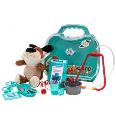 """Набор ветеринара 919-919 """"Орион"""", с питомцем, в чемодане"""