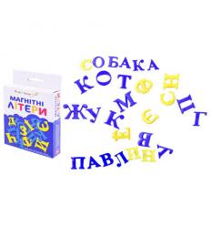 Буквы магнитные KI-7001 Украинский алфавит, в коробке