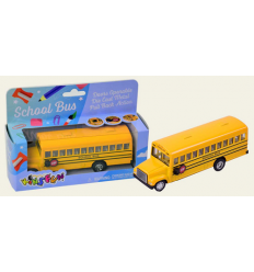 "Машина металл ""KINSMART"" KS 6501 W ""School Bus"" в коробке"